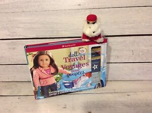American Girl Doll Travel Set with Coconut Bellhop!