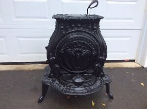 Beautiful antique gauthic style parlour stove 4 sale