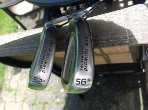 Face Forward Wedges 52 and 56 Degree Graphite Shafts Men's LH