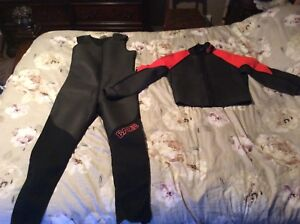 Bare men's XL wetsuit fits mor like a large