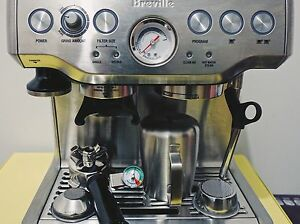 Breville BES870 Barista Coffee Machine Windsor Stonnington Area Preview
