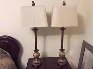 2-ELEGANT TABLE LAMPS