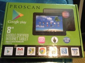 "Proscan 8"" Tablet, 8 GB, Android Jelly Bean, Wi-Fi, Black"