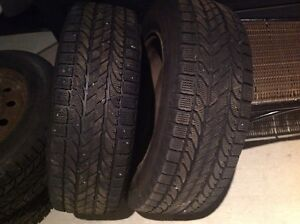 Tires 215 65 15 bf Goodrich winter