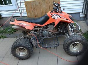 Dvx 400 2006 trade for two stroke dirtbike