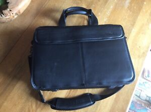 Dell computer leather bag