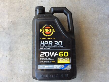 Penrite HPR 30  20W-60 High Performance Mineral Oil - 3 litres