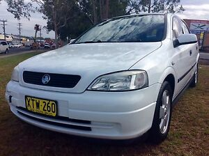 2001 Holden Astra CD sedan 4 Cyl 5speed Low KM's 3 Months Rego Woodbine Campbelltown Area Preview