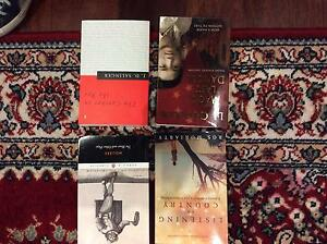 Year 11 and 12 text book various including novels Subiaco Subiaco Area Preview