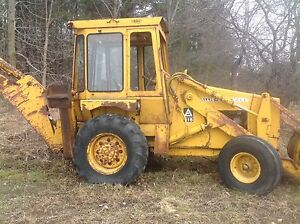 Allis Chambers model 816 backhoe - late 70's