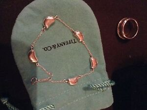 AUTHENTIC 5 BEAN TIFFANY AND CO BRACELET