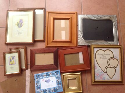 Assorted picture frames - from $0.50