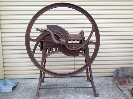 Chaff Cutter Antique Lasseters Sydney