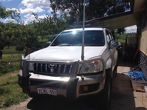2007 Toyota LandCruiser  Prado Wagon  6spd Manual with Extras Bethanga Towong Area Preview