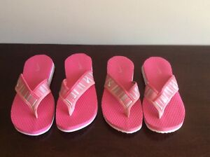 Girl's Nike Flip Flops - Size 3M/4W  and4M/5W