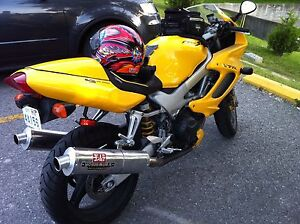 Honda VTR 1000 and accessories