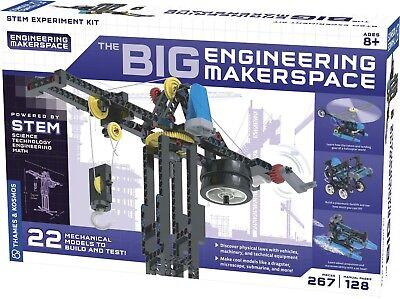 The Big Engineering Makerspace STEM Experiment Kit Thames & Kosmos 628154
