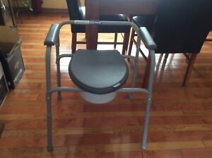 Commode unused as new