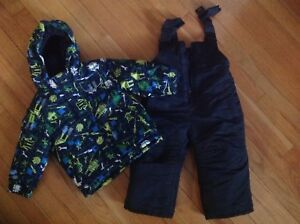 Boys Winter Jacket and Snow pants size 18 months
