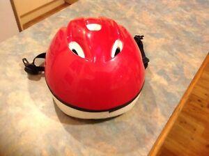 Child Red Helmet excellent condition