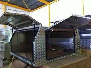 Checker Plate Dual Cab 6*6 Canopy / Toolbox 3 doors No Floor Samson Fremantle Area Preview