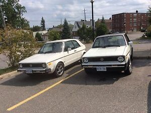 Volkswagens TWO! Plus PARTS car =3