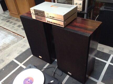 RETRO HIFI - CLASSIC VINYL PLAYER - Japanese Vintage - Complete
