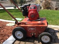 Grass dethatching and spring clean ups