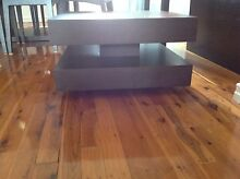 Chocolate timber lamp table - Great look! Mount Lewis Bankstown Area Preview
