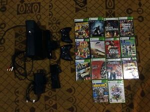 Xbox 360 with Kinect and tons of games