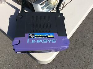 Routeur sans fil Linksys / Wireless router Linksys