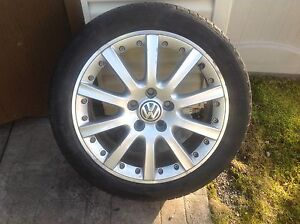 Vw Rims and Tires 225/45/17