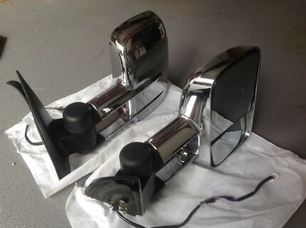 Clearview Towing Mirrors Prado 150