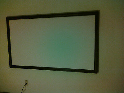 63x37 Movie Projector Projection Screen Material Bare Commercial Grade Fabric