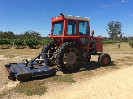 Massey Ferguson 1085 tractor with Chris Grow slasher Adelaide CBD Adelaide City Preview