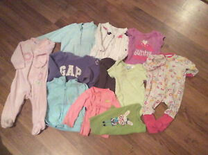 Girl Clothes size 3-6 months and 6-12 months selling as a lot