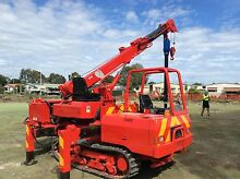 Tight access Screw Pile and Bored Pier Tracked Tipper Machine Cranbourne Casey Area Preview