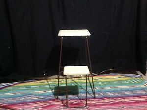 Antique stool/fold out step ladder Hornsby Hornsby Area Preview