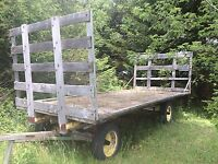 Hay wagon for rent - Weddings or Stage