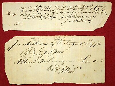 RARE DOCUMENTS FROM OUTBREAK OF THE AMERICAN REVOLUTION REDUCED $$ FINAL OFFER