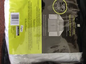 Brand new Medium frosted barbecue cover