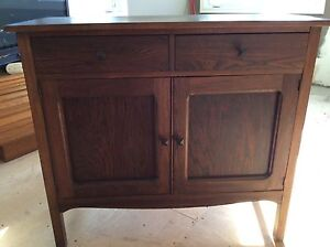 Solid wooden cabinet