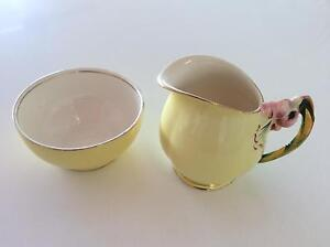 Royal Winton Grimwades Milk Jug and Sugar Bowl Margate Redcliffe Area Preview