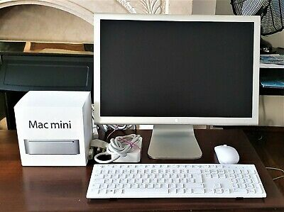 "Apple Mac mini ""Core 2 Duo"" 2.53 (Late 2009), Cinema Display, Mouse & Keyboard"