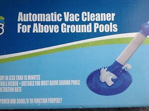 New automatic vac cleaner for above ground pool Box Hill North Whitehorse Area Preview