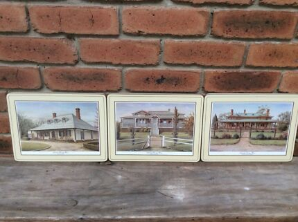 """""""AUSTRALIAN COUNTRY HOMES"""" PLACE-MATS"""