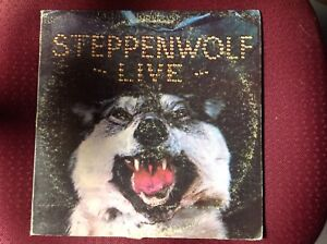 "STEPPENWOLF ""LIVE"" Double Vinyl LP"