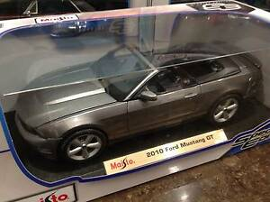 DIECAST CAR - 2010 FORD MUSTANG GT -SILVER Thornleigh Hornsby Area Preview