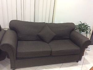 Fabric sofa bed and two singles, good condition Stanhope Gardens Blacktown Area Preview