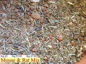 Mouse Food, Rat food , Rodent mix for Mice delivery available Sydney City Inner Sydney Preview